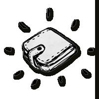 Logo Herren Geldbörse